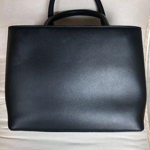 Fendi Bags - Fendi Petite 2jours Studded Black Leather Bag